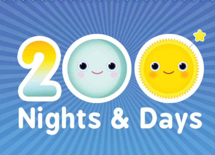 200 nights and days